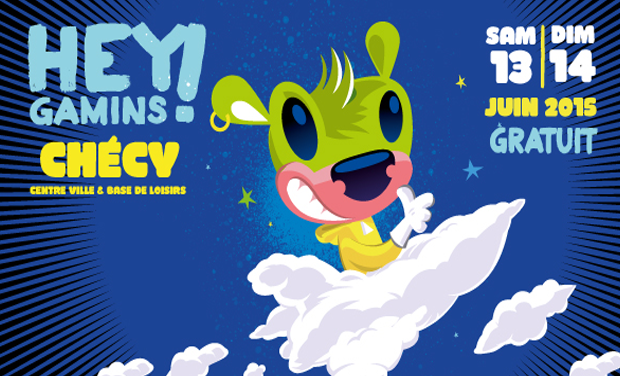 Project visual Une nouvelle déco pour le festival familial Hey Gamins