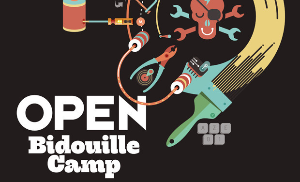 Visueel van project Open Bidouille Camp