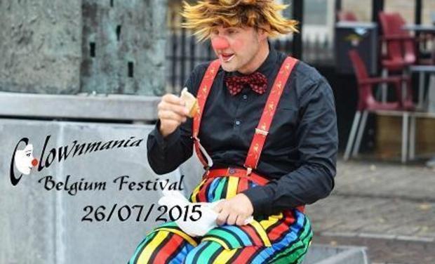 Visuel du projet Clownmania Belgium Festival