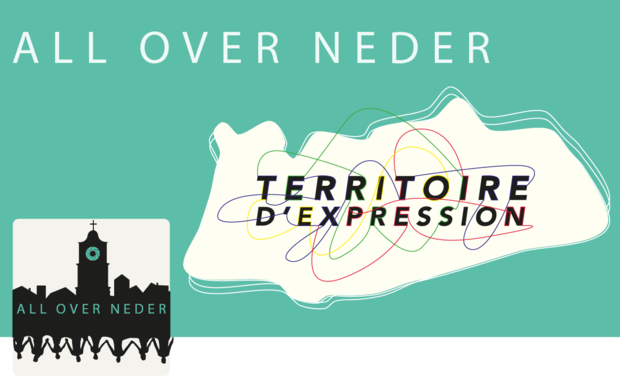 Project visual All Over Neder : territoire d'expression
