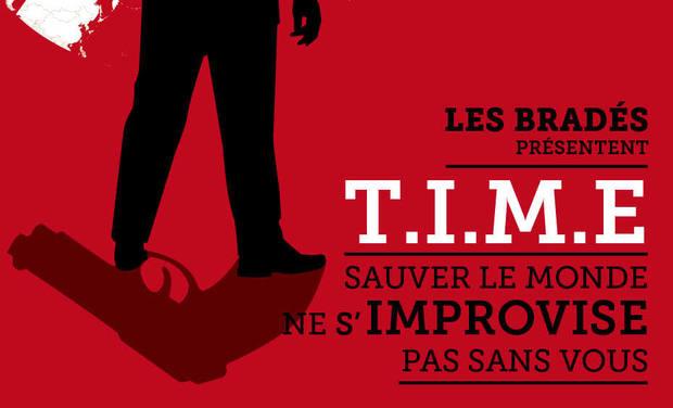 Visuel du projet TIME: le spectacle d'improvisation ! Avignon off 2015