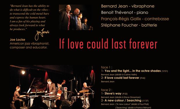 Visuel du projet Bernard Jean 4tet en vinyl collector