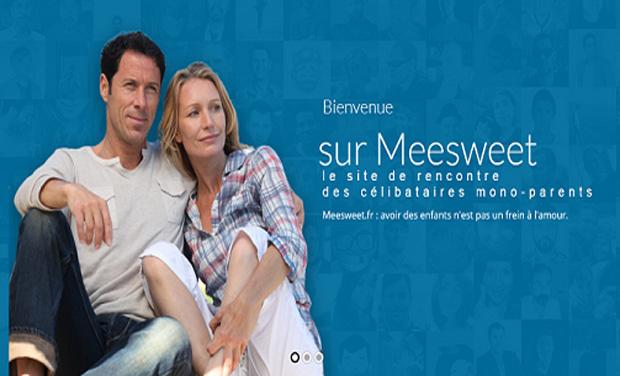 Visuel du projet Meesweet.fr : le site de rencontres des parents célibataires