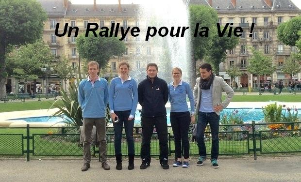 Visuel du projet Un rallye pour la vie !