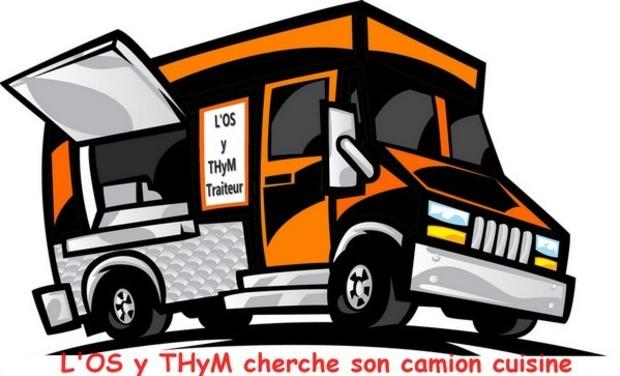 Visuel du projet L'os Y Thym cherche son camion cuisine !!!