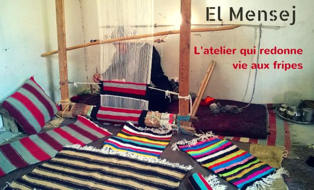 Visuel du projet El Mensej, l'atelier qui redonne vie aux fripes