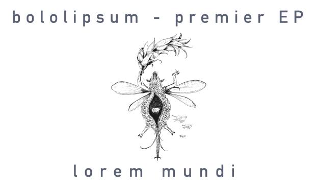 Visueel van project bololipsum - Lorem Mundi (EP)