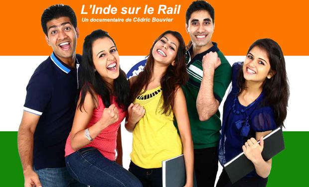 Project visual L'Inde sur le rail
