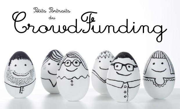 Project visual Petits portraits du CrowdFunding