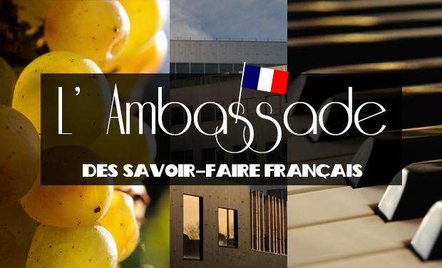 Project visual L'Ambassade des savoir-faire français