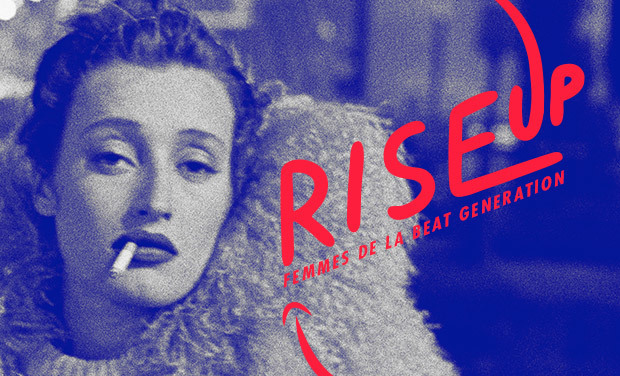 Visueel van project RISE UP Femmes de la Beat Generation, FESTIVAL AVIGNON OFF 2015