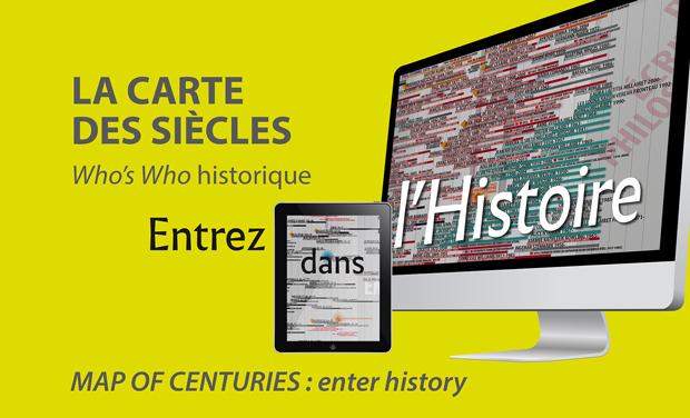 Visuel du projet La Carte des Siècles / Map of Centuries