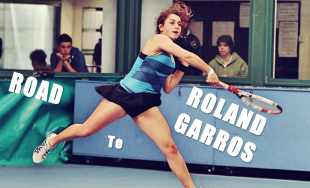 Project visual Road to Roland-Garros