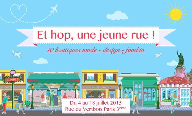 Visuel du projet Et hop, une jeune rue !