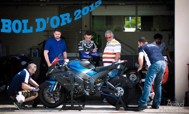 """Visuel du projet Le """"TOME"""" se lance pour le championnat du monde d'endurance moto: le Bol d'Or 2015"""