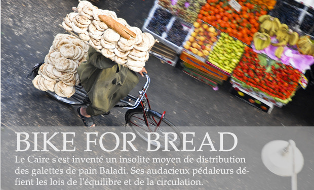 Project visual BIKE FOR BREAD