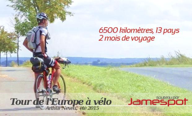 Visuel du projet Tour de l'Europe à vélo