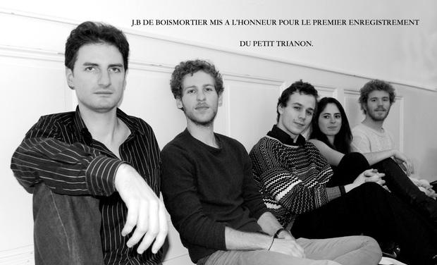 Visuel du projet Le Petit Trianon enregistre J.B de Boismortier