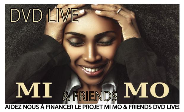 Visuel du projet DVD Live Mi Mo & Friends