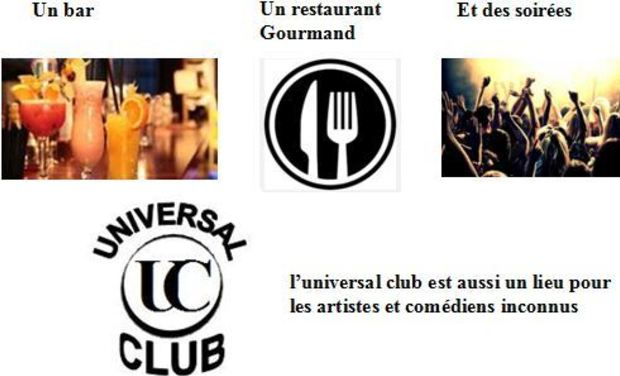 Visueel van project UNIVERSAL Club