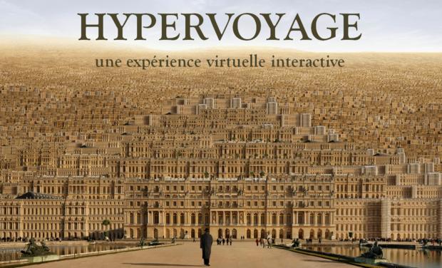 Visueel van project Hypervoyage, une expérience virtuelle et interactive
