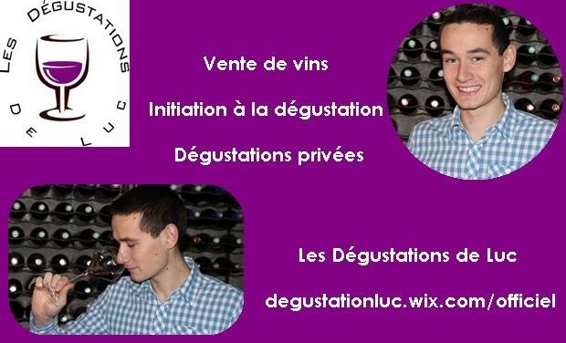 Visuel du projet Les Dégustations de Luc