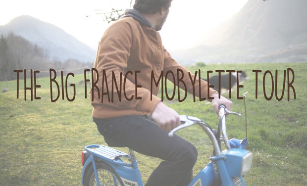 Visueel van project The Big France Mobylette Tour