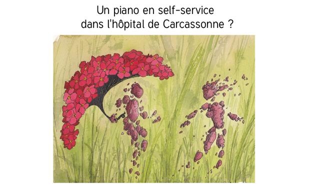 Visuel du projet Un piano dans le hall de l'hôpital de Carcassonne?