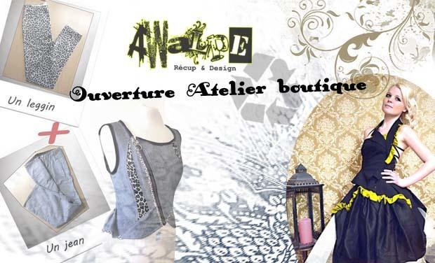 Project visual Awalpé Ouverture de L'atelier boutique créateurs