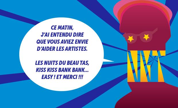 Visueel van project Aux Nuits du Beau Tas, ça ne chôme pas !