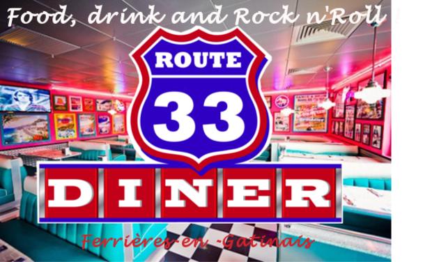 Visueel van project Route 33 diner américain