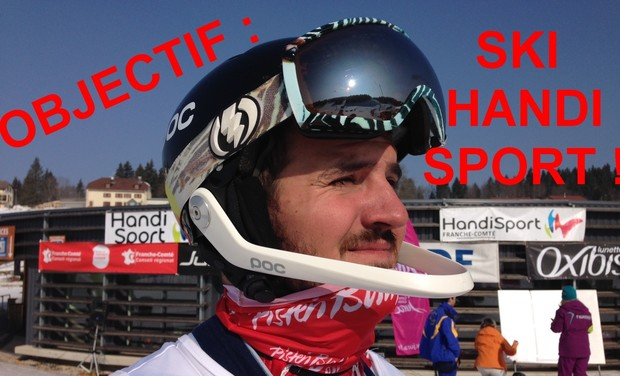 Visuel du projet Objectif : Ski Handisport !