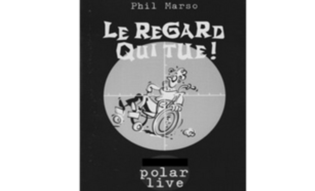 Project visual Le regard qui tue ! – Nouvelle polar sur l'handicap