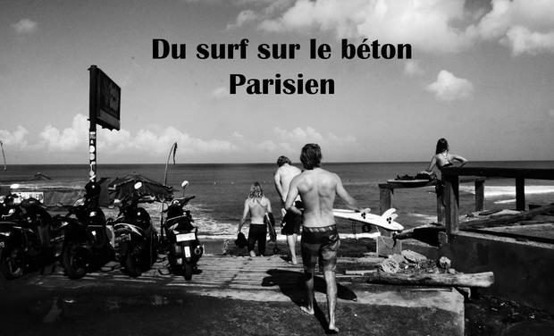 Visuel du projet Du surf sur le béton parisien