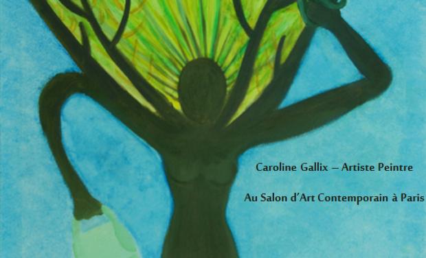 Visuel du projet Caroline Gallix Artiste Peintre au Salon d'Art Contemporain à Paris