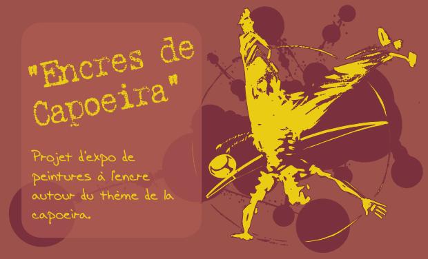 """Visuel du projet """"Encres de Capoeira"""""""