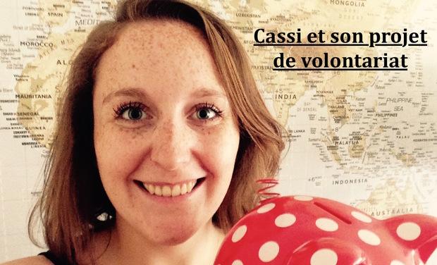 Project visual Cassi et son projet de volontariat