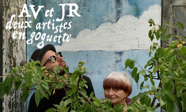 Visuel du projet AV et JR deux artistes en goguette