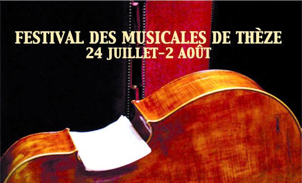 Project visual FESTIVAL DES MUSICALES DE THEZE