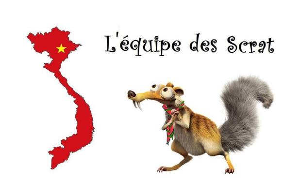 Visuel du projet Les Scrat partent au Vietnam