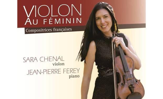 Project visual Violon au Féminin - Compositrices françaises