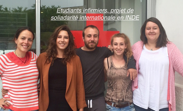 Project visual Etudiants Infirmiers,  projet de solidarité international en Inde