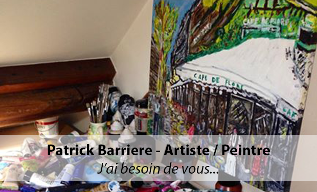 Visuel du projet Patrick Barriere - Artiste / Peintre - Première Expo