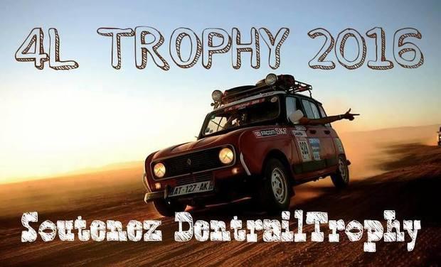 Visueel van project TEAM DENTRAIL TROPHY - 4L trophy 2016