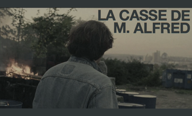 Project visual La casse de M. Alfred