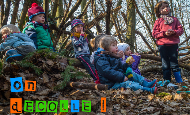 Visuel du projet Une roulotte pour les enfants des bois!