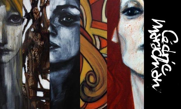 Project visual MéCéNAt 2.0: Peintures CéDRiC MArAChiAN