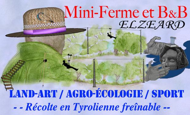 Visuel du projet Mini-Ferme et B&B ELZEARD   ( mini-Farm_B&B )