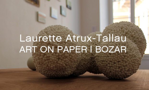 Visueel van project LAURETTE ATRUX-TALLAU ART ON PAPER I BOZAR