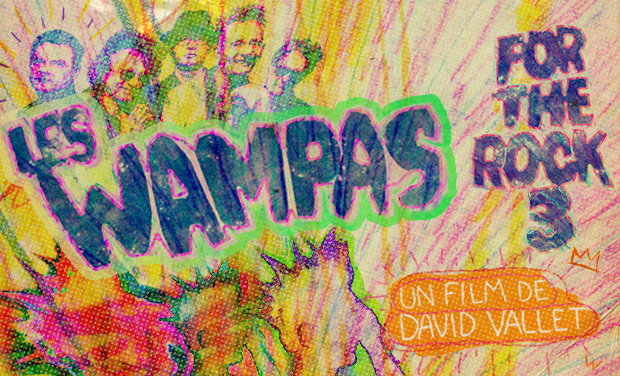 Project visual LES WAMPAS FOR THE ROCK 3